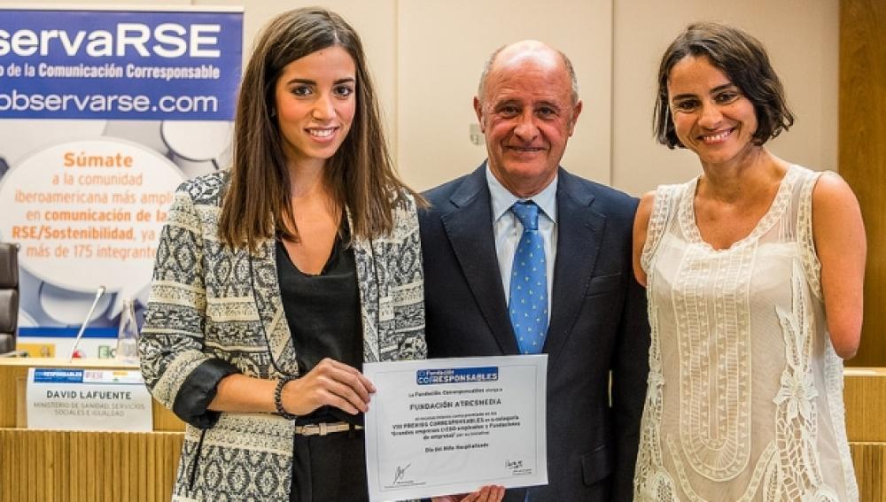 Los Premios Corresponsables reconocen la labor de la Fundación Atresmedia