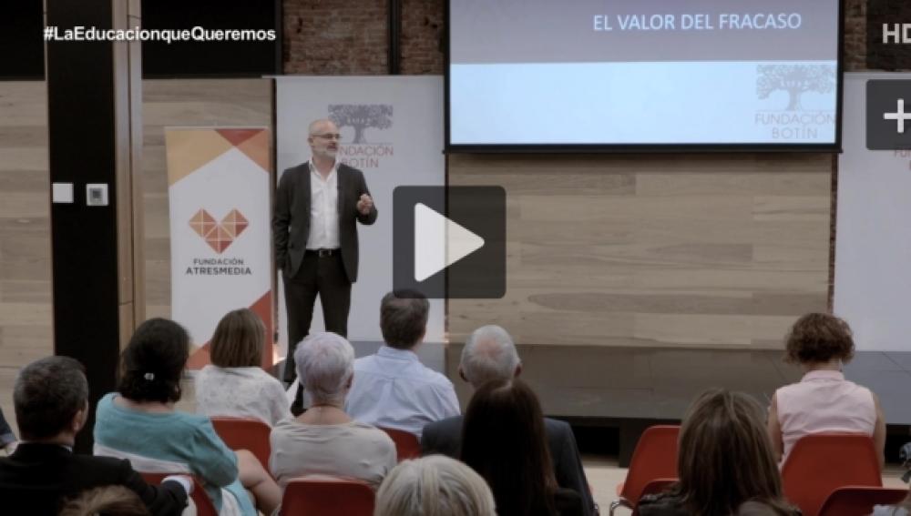 Conferencia 'El valor del fracaso'