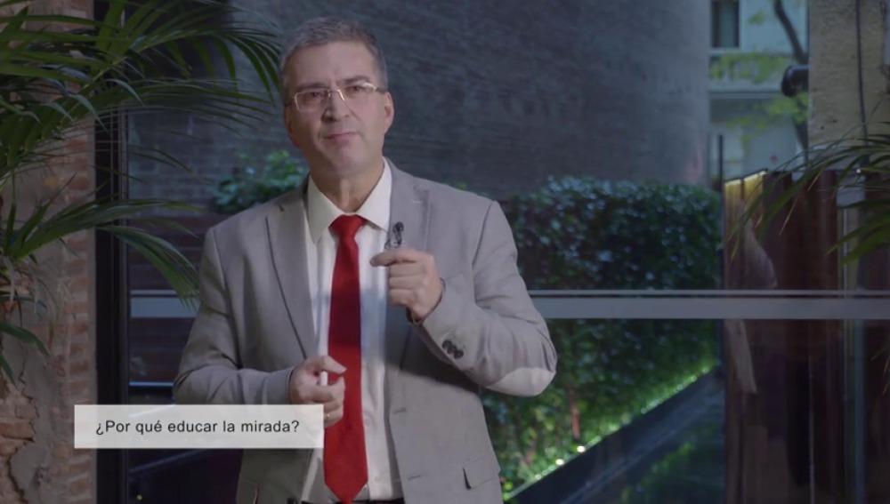 "Xosé Manuel Domínguez: ""Es fundamental educar la mirada"""