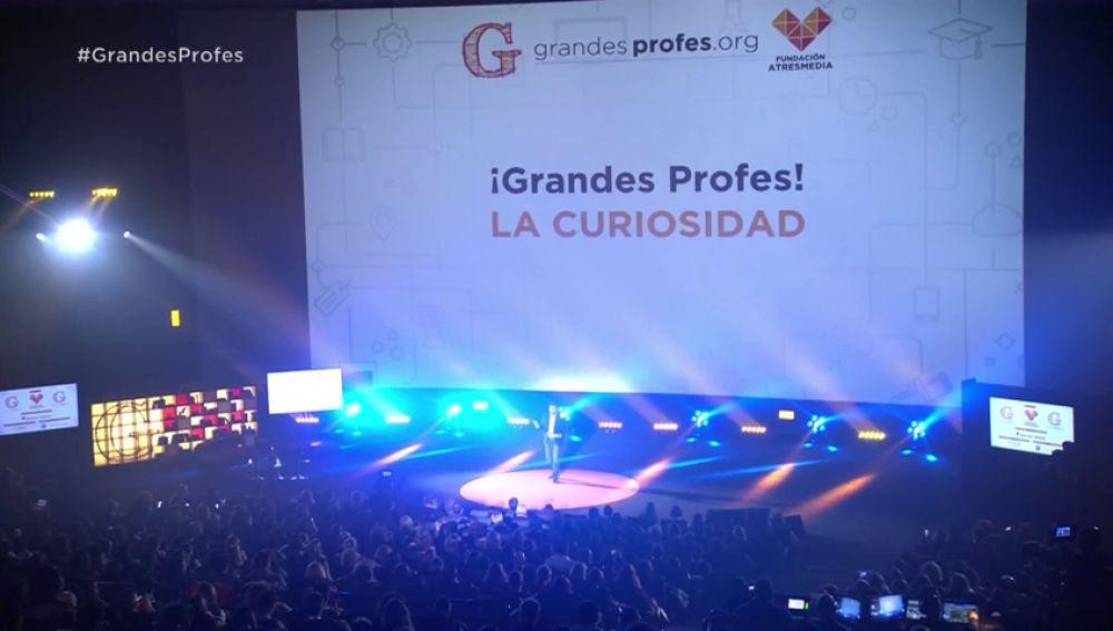 Resumen del encuentro '¡Grandes Profes!' 2018