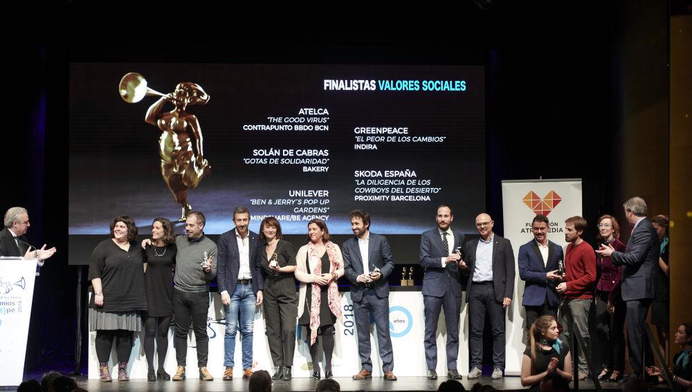 26d0234210f La Fundación Atresmedia entrega el premio a los  Valores sociales ...