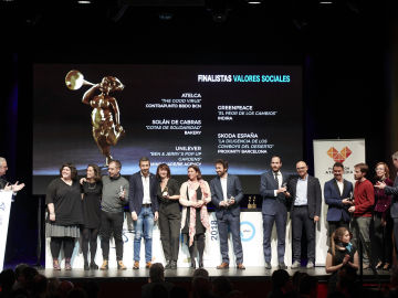 La Fundación Atresmedia entrega el premio a los 'Valores sociales'
