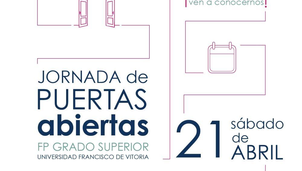 Jornada de puertas abiertas en Universidad Francisco de Vitoria