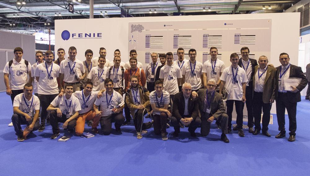 FENIE celebra la XV Edición del Concurso de Jóvenes Instaladores