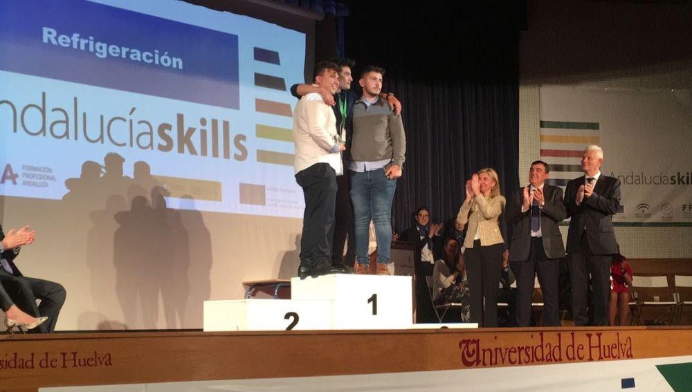 El Colegio San José de Málaga, medalla de plata en el Campeonato de FP 'AndalucíaSkills'