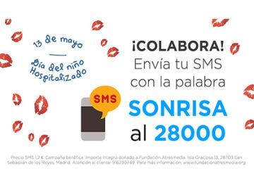 Envía tu SMS y colabora en el Día del Niño Hospitalizado