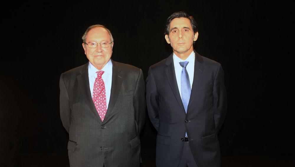 José María Álvarez-Pallete y José Luis Bonet