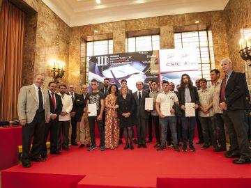 La Fundación Talgo y el CSIC entregan los III Premios a la Soldadura en la Formación Profesional
