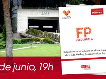 Inscríbete a la presentación del informe 'Reflexiones sobre la FP de Grado Medio y Superior en España' en IESE