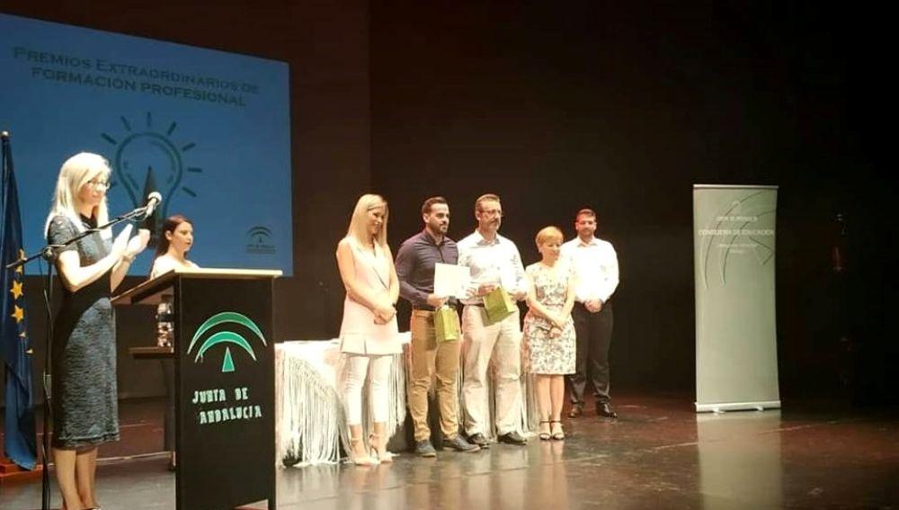 Adrián Cortés, premio extraordinario de Andalucía en Formación Profesional
