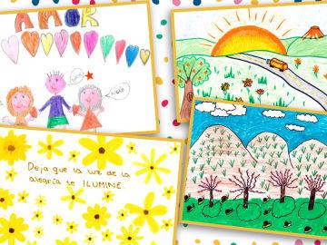 Vota los dibujos que ilustrarán el calendario de la Fundación Atresmedia