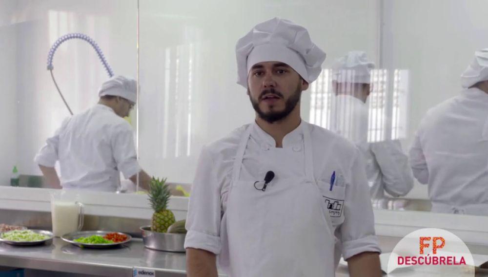 Si te gusta la cocina puedes aprender tu profesión con la FP
