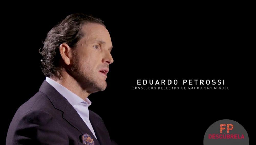 Eduardo Petrossi, consejero delegado de Mahou San Miguel