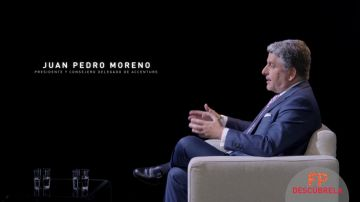 Juan Pedro Moreno, presidente y consejero delegado de Accenture
