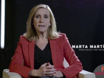 Marta Martínez, presidenta de IBM España