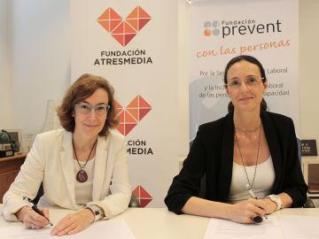 La Fundación Atresmedia y la Fundación Prevent alcanzan un acuerdo para becar a alumnos con discapacidad
