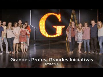 La Fundación Atresmedia, SAMSUNG y la Universidad Internacional de Valencia ponen en marcha la 6ª edición de los Premios 'Grandes Profes, Grandes Iniciativas'