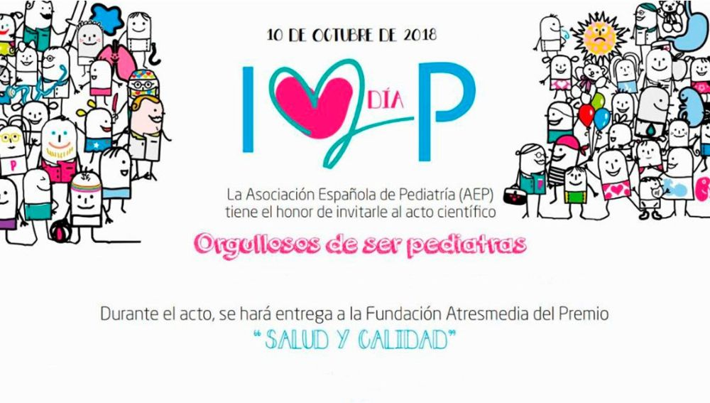 La Asociación Española de Pediatría concede el premio 'Salud y Calidad' al Índice de Humanización de Hospitales (IHHI)