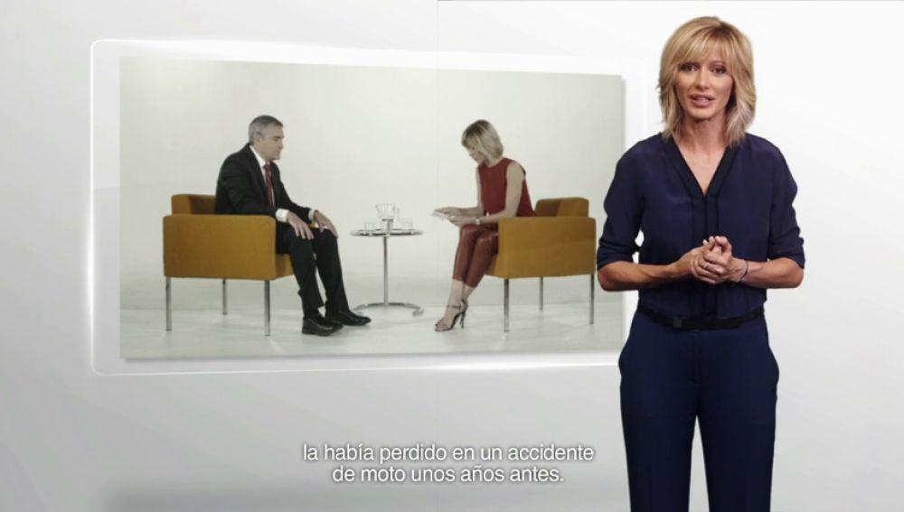 Susanna Griso habla de Ismael Pereda