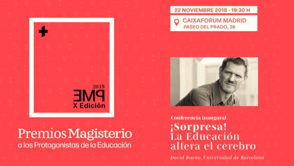 Premios Magisterio a los Protagonistas de la Educación 2018