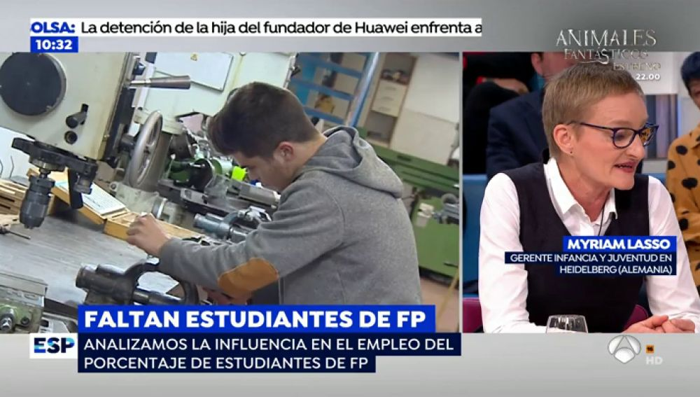 España necesita más titulados en Formación Profesional