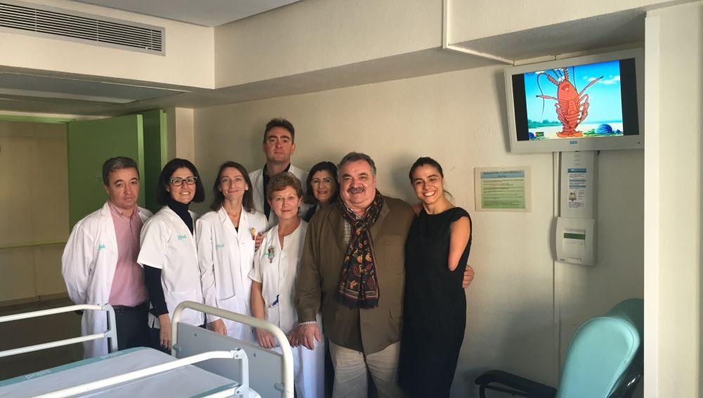 El Canal FAN3 llega al Hospital Obispo Polanco de Teruel
