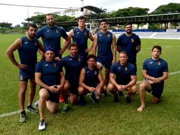 La Selección Española de Rugby apoya la campaña 'Borremos el dolor infantil'