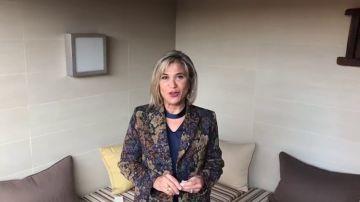 Julia Otero se suma a la campaña 'Borremos el dolor infantil'