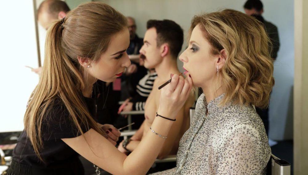 Alumnos de FP, maquilladores oficiales en la Gala de los Premios Gaudí