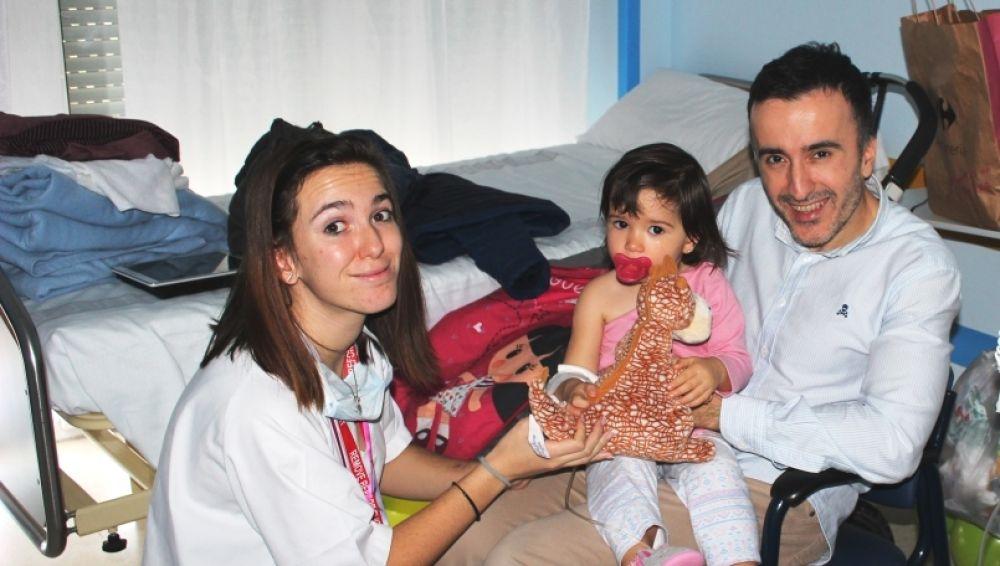 """""""Felicitar también es Humanizar"""" en el Hospital San Rafael"""