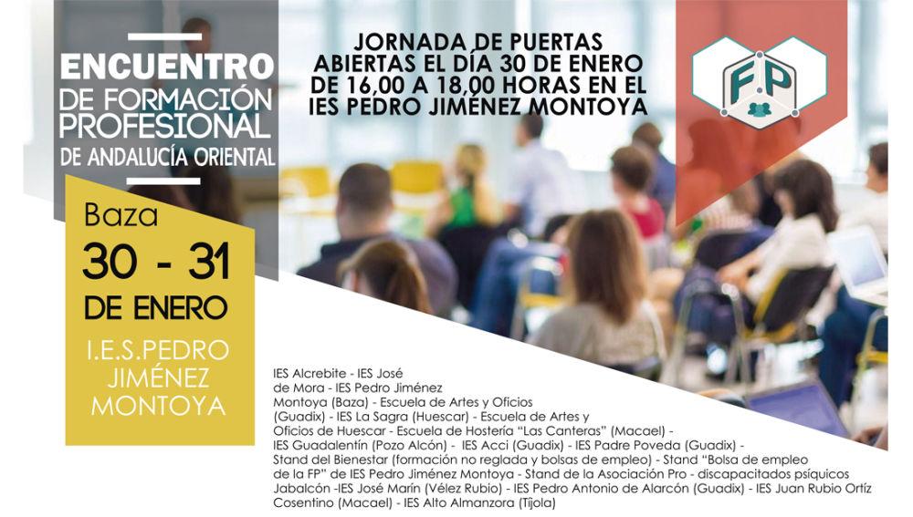 Encuentro de Formación Profesional de Andalucía Oriental