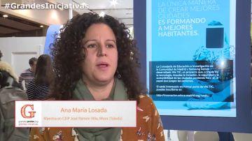 Ana María Losada del colegio José Ramón Villa de Mora, habla sobre la importancia de conocer las buenas prácticas de otros compañeros