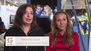 Teresa Pan y Agua explica la importancia de poner en valor la labor del profesor