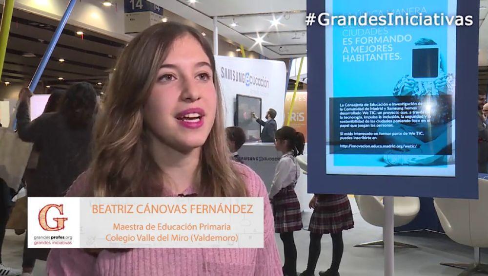 Beatriz Cánovas detalla los objetivos de su proyecto