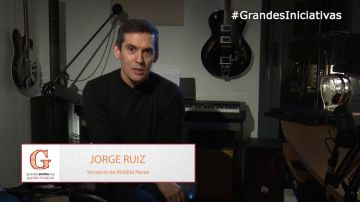Jorge Ruiz, vocalista del grupo Maldita Nerea, te anima a participar en los Premios 'Grandes Profes, Grandes Iniciativas'