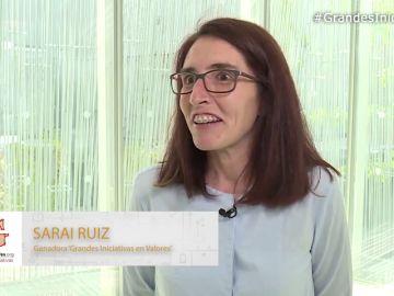 Sara Ruiz cuenta cómo recibieron la noticia tras proclamarse ganadores en la categoría 'Grandes Iniciativas en valores'