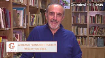Las razones de Mariano Fernández Enguita para presentarte a los Premios 'Grandes Profes, Grandes Iniciativas'