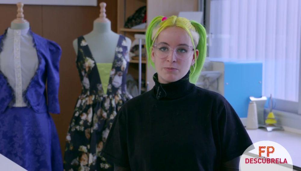 Decidí estudiar Formación Profesional para conocer las bases de la moda