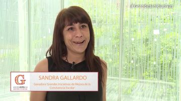 """Sandra Gallardo: """"Este premio reconoce todo el esfuerzo realizado durante años"""""""