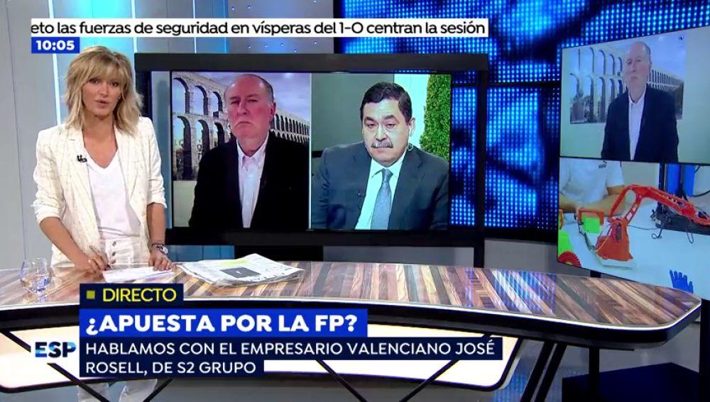 Espejo Público debate sobre la FP