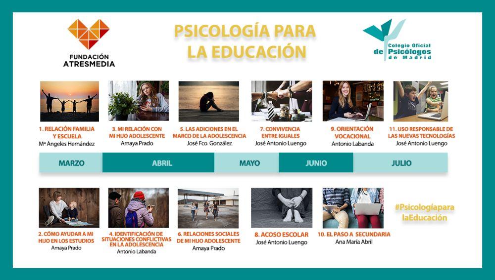 Programa 'Psicología para la Educación'