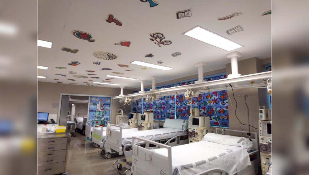 l Servicio de Nefrología pediátrica del Hospital La Fe estrena nueva decoración