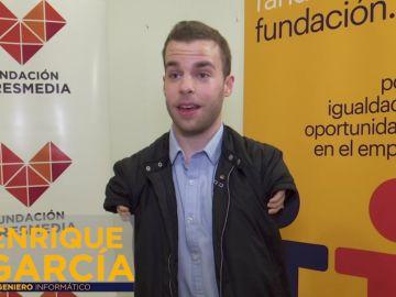 Entrevista a Enrique García, Ingeniero Informático, candidato con discapacidad
