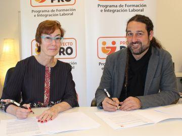 La Fundación ATRESMEDIA y la Escuela TOTART alcanzan un acuerdo para becar a alumnos con discapacidad en Interpretación