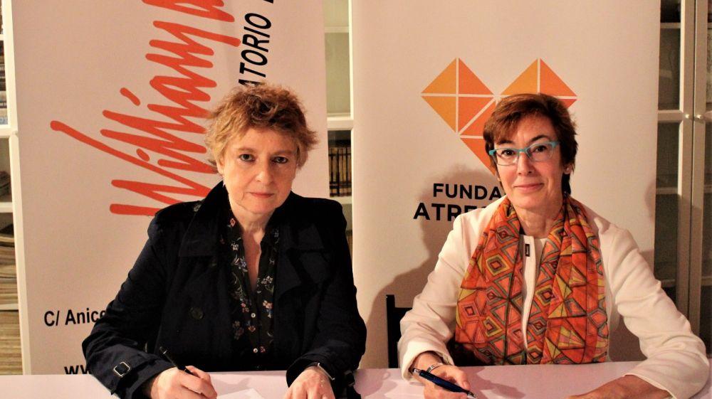 La Fundación Atresmedia y el LABORATORIO WILLIAM LAYTON firman un acuerdo de colaboración para impulsar la formación en interpretación de personas con discapacidad.