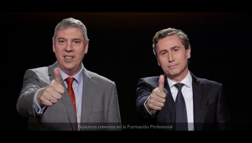 Juan Alonso, Presidente y CEO de L'Oreal España y José Vicente, Presidente de Renault España