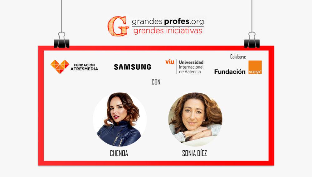 Presentadores Premios 'Grandes Profes, Grandes Iniciativas'
