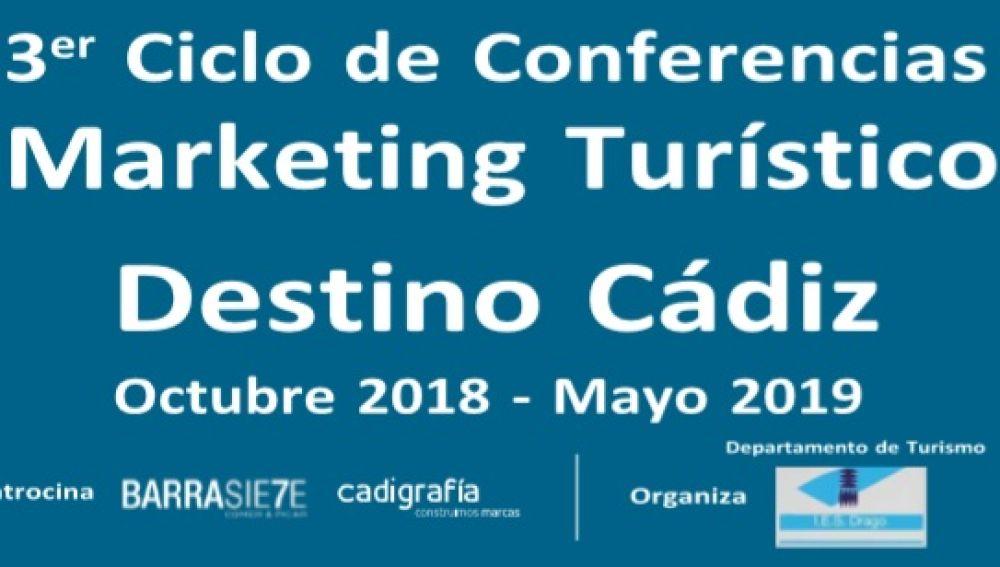 """III Ciclo de Conferencias """"Marketing Turístico. Destino Cádiz"""""""