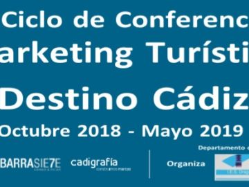 "III Ciclo de Conferencias ""Marketing Turístico. Destino Cádiz"""