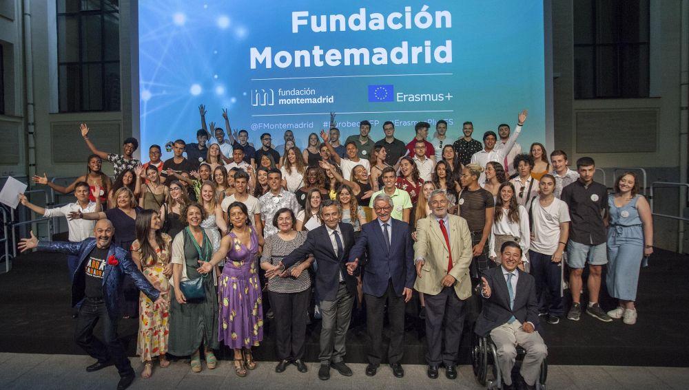 Fundación Montemadrid celebra su encuentro con los becarios Erasmus+